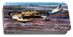 Blue Crab - Big Claws Portable Battery Charger