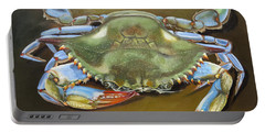 Blue Crab Portable Battery Charger by Phyllis Beiser