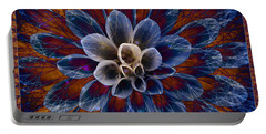 Blue Dahlia Portable Battery Charger