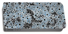 Blue Daisies Portable Battery Charger
