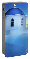 Blue Domed Chapel Portable Battery Charger