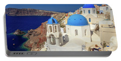 Blue Domed Churches Portable Battery Charger