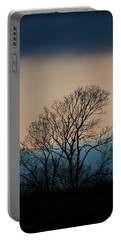 Portable Battery Charger featuring the photograph Blue Dusk by Chris Berry
