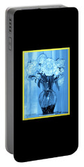 Portable Battery Charger featuring the photograph Blue by Elly Potamianos