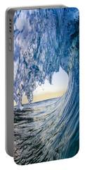 Blue Envelope - Vertical Portable Battery Charger