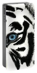 Blue-eyed Tiger Portable Battery Charger