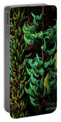 Blue Jade Vine Portable Battery Charger by Craig Wood