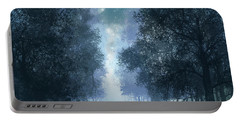 Blue Forest 2 Portable Battery Charger by Bekim Art