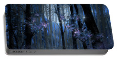 Blue Forest Portable Battery Charger by Bekim Art
