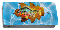 Blue Gill Portable Battery Charger by Ralph Root