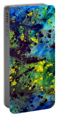 Blue Green Chaos Portable Battery Charger