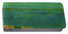 Blue-green Dakota Dream, 2 Portable Battery Charger