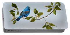 Blue Grosbeak Portable Battery Charger