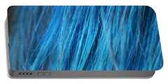 Blue Hair Portable Battery Charger