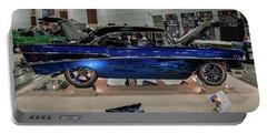 Blue Heaven Portable Battery Charger by Randy Scherkenbach