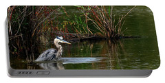 Blue Heron Pond Portable Battery Charger