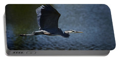 Blue Heron Skies  Portable Battery Charger