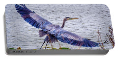 Blue Heron  Take Off  Portable Battery Charger