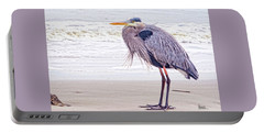 Blue Heron Watching Portable Battery Charger