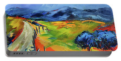Blue Hills By Elise Palmigiani Portable Battery Charger