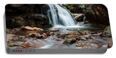 Portable Battery Charger featuring the photograph Blue Hole In Spring #3 by Jeff Severson