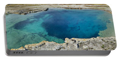 Blue Hot Springs Yellowstone National Park Portable Battery Charger