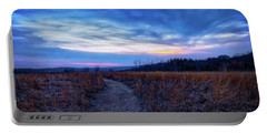 Portable Battery Charger featuring the photograph Blue Hour After Sunset At Retzer Nature Center by Jennifer Rondinelli Reilly - Fine Art Photography