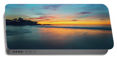 Portable Battery Charger featuring the photograph Blue Hour At Carmel, Ca Beach by John Hight