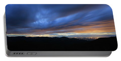 Blue Hour In Shenandoah Portable Battery Charger