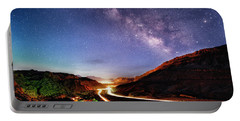 Blue Hour Milky Way Over Moab Portable Battery Charger