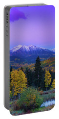 Blue Hour Over East Beckwith Portable Battery Charger