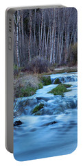 Blue Hour Streaming Portable Battery Charger by James BO Insogna