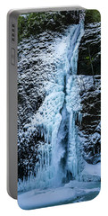 Blue Ice And Water Portable Battery Charger