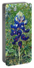 Blue In Bloom 2 Portable Battery Charger