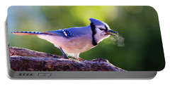 Blue Jay Breath Portable Battery Charger