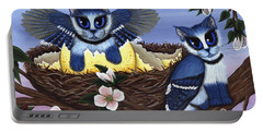 Blue Jay Kittens Portable Battery Charger