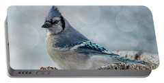 Blue Jay Perch Portable Battery Charger