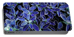 Blue Leaves Portable Battery Charger