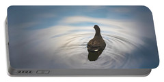 Blue Light Moorhen Portable Battery Charger