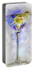 Blue Martini Portable Battery Charger