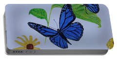 Blue Monarch Portable Battery Charger