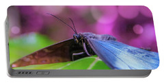 Blue Morpho  Butterfly 2 Portable Battery Charger