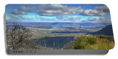 Portable Battery Charger featuring the photograph Blue Mountains, New South Wales, Australia by Elaine Teague