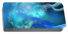 Blue Nebula Portable Battery Charger