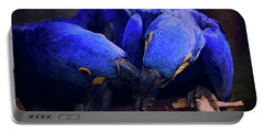 Blue Parrots Portable Battery Charger