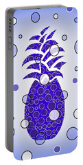Blue Pineapple Portable Battery Charger