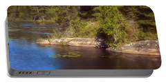 Blue Pond Marsh Portable Battery Charger