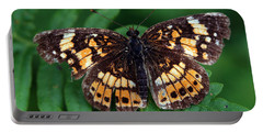 Portable Battery Charger featuring the photograph Blue Ridge Butterfly by Kay Lovingood