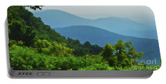 Blue Ridge Mountain Layers Portable Battery Charger by Kerri Farley