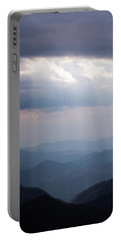 Blue Ridge Mountain Sun Ray Portable Battery Charger